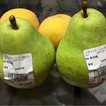 アグリステーションなぐら お母さんの店 - 洋梨と黄桃