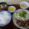 力餅食堂 - 料理写真:焼肉定食(850円)
