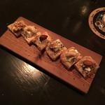 藤丸クラフト - ゴルゴンゾーラ、ナッツ、蜂蜜のブルスケッタ