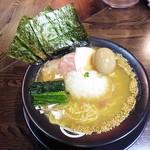 麺屋 時茂 - 料理写真:鶏白湯醤油¥800 +味玉(クーポン無料・通常¥100)
