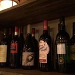 ペック バル デ エスパーニャ - ワインは基本スペインのものを
