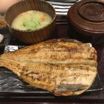 57136675 - しまほっけ一尾定食(1200円)