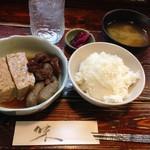 韓国家庭料理 家族 - ランパス 和牛すじ肉豆腐セット