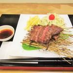 肉's Kitchen きたうち - 美笑牛 極みステーキ 120g。1278円+税