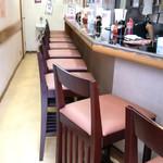 鴨町らーめん - 椅子を新しくリニューアル!