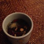 黒猫夜 - 〆の八宝茶
