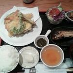 与市 - 天ぷら膳