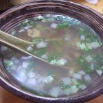 鶏料理専門店みやま本舗 - (2008.9)鶏スープ