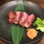 牛タン べこ串 - 厚切り牛タン1,078円(税込)