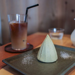 SOLO - 和栗のモンブラン&カフェ・ラテ☆