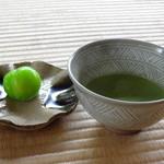 丈山苑 - 料理写真:抹茶+和菓子