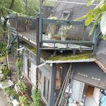 ドームハウスサトー - ツリーハウスから見下ろすドームハウス