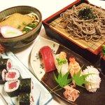 末広すし - お好みのお寿司 と うどん・そばのセットメニューは1番人気です! 850円~880円