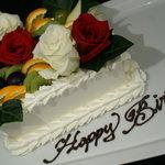 テイストシックス - お誕生日ケーキ☆TASTE-6のケーキはお花とフルーツがいっぱい!飾りつけはパティシエのその日の気分で☆