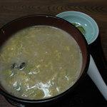 活魚料理 やすらぎ - 料理写真:牡蠣雑炊525円
