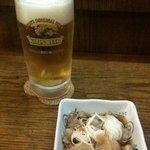 つかさ - ビール&お通し