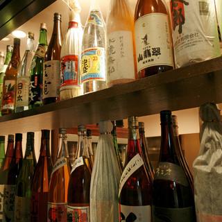 熊本の美食とともにプレミアム焼酎、ワインはいかがですか!