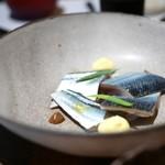 カセント - 秋刀魚のマリネ