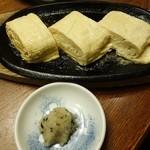 串八 - 薩摩鶏赤玉子のだしまき400円(税別)