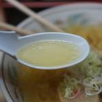 ラーメン信月 - 澄んだスープ