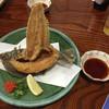 味いそ料理 庄や - 料理写真:ヒラメの唐揚げ!天にそびえる。