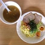八丸 - 鶏白湯つけ麺+味付け玉子