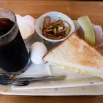 ライラック - 料理写真:エッグトーストのセット