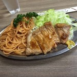 桃乳舎 - ポークソテー定食