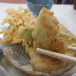 天ぷら定食ふじしま - 鶏しそ