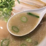 シロマルベース - スープ