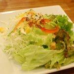 マグズカフェ - セットのサラダ