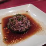 57160192 - 28年10月 鶏肉と黒米の蒸しハンバーグ