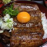 福也 - うな肝丼
