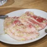 ホルモン本舗 昭和館 - 豚バラ肉(ハーフ)
