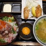 北海道厚岸 コレド室町店 - 海鮮丼