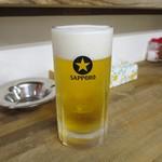 徳田厨房 - 生ビール