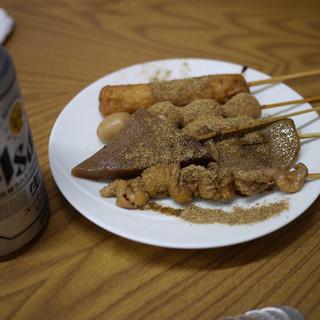 すいのや - 料理写真:缶ビール&おでん~☆