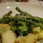 ロフィチーナ デル チーボ - 温野菜のサラダ 800円