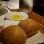 ロフィチーナ デル チーボ - ディナーについてくるパン