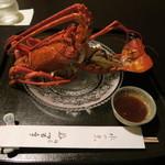 57164134 - 伊勢海老の温製サラダ                       (2016年10月ディナー訪問)
