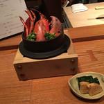 広尾小野木 - オマール海老の炊き込みご飯