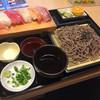 新栄寿し - 料理写真:ざるそばにぎりセット