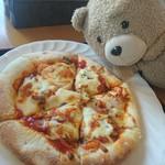 お食事 風の寄り道 - もち入りピザ