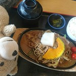 お食事 風の寄り道 - ジンギスカン定食