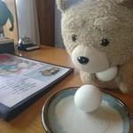 お食事 風の寄り道 - 1人1個までサービスのゆで卵