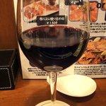 LA PLANCHA - 【2010/11】 本日のワイン<赤> ¥850 アラゴン州の希少ワインのしっかりしたほう
