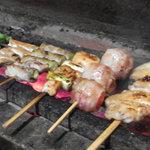 焼とり 鳥玄 - 紀州備長炭で焼いた焼き鳥は軟らかく香ばしくお酒も進みます!!!