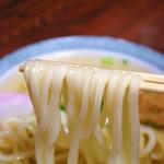 柳川 - にょ〜ん( ´ ▽ ` )ノ  割り箸より細いうどんですぞΣ(OωO )