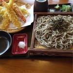森乃庵 - 料理写真:天ざるそば