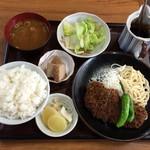 57170636 - ランチのロースカツ定食/¥950